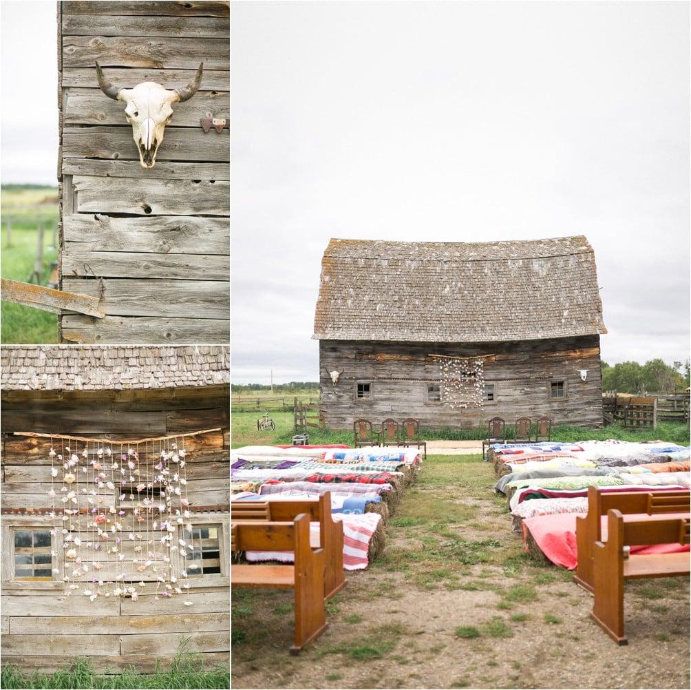 Second Hand Wedding Dresses Vancouver: DIY Prairie Farmyard Wedding